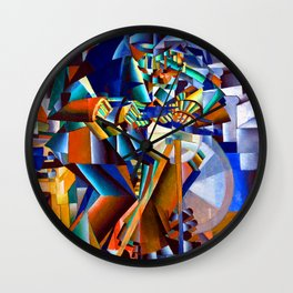 Kazimir Malevich Knife Grinder Wall Clock