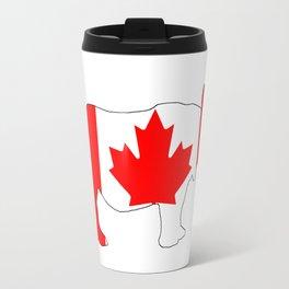 Rhinoceros Canada Travel Mug