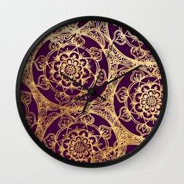 Mandala Luxe Wall Clock