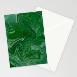 Malachite Marble Stationery Cards