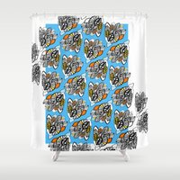 concert Shower Curtains featuring leaf opera concert by Indigo Images