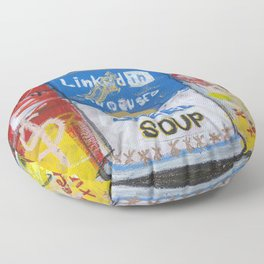 Greed Soup Preserves Floor Pillow