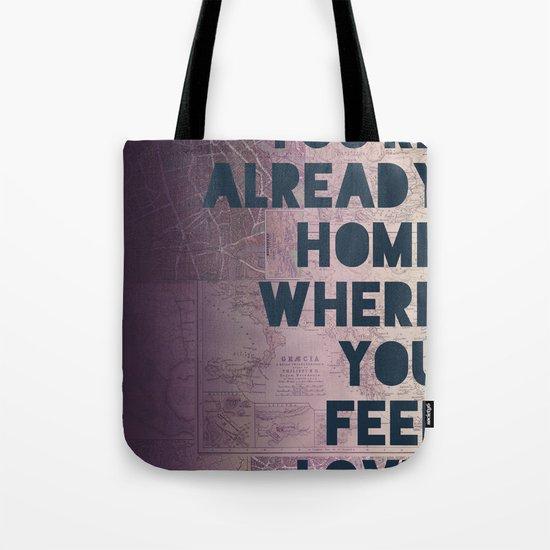 Home II Tote Bag