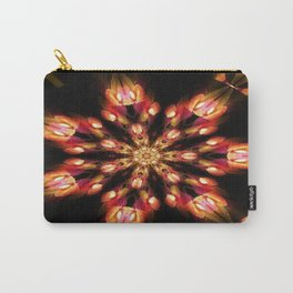 Warm Fire Snowflake Carry-All Pouch