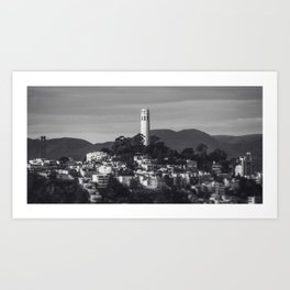 Coit Tower Art Print