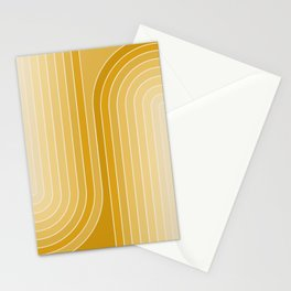 Gradient Curvature VII Stationery Cards