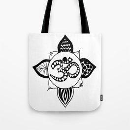 Om Pattern Tote Bag