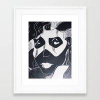 superhero Framed Art Prints featuring Superhero by Niki_Reed