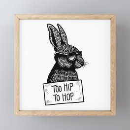 Too Hip To Hop Framed Mini Art Print