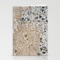concrete Stationery Cards featuring Concrete by Herzensdinge