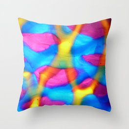 Melted #2 Throw Pillow