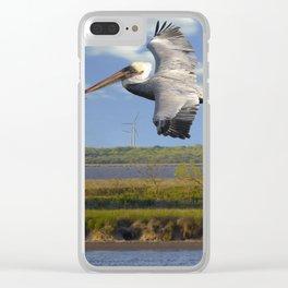 Pelican Wind Turbines Clear iPhone Case