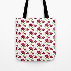 Ladybird pattern Tote Bag