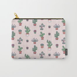 I Love Succulents Carry-All Pouch
