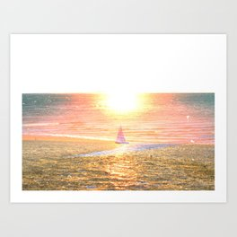 Sail dream Art Print