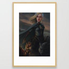 Aelin Fireheart Framed Art Print