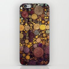 Enchanted Autumn -- Painterly Abstract Fall Color Magic iPhone & iPod Skin