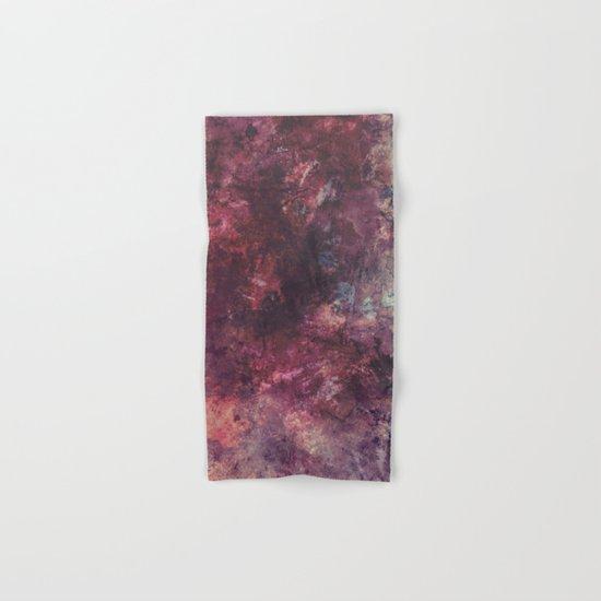 acrylic grunge Hand & Bath Towel