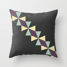 Oragami Traingles Throw Pillow