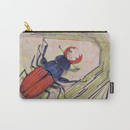 The measurement of space / stag-beetle Carry-All Pouch
