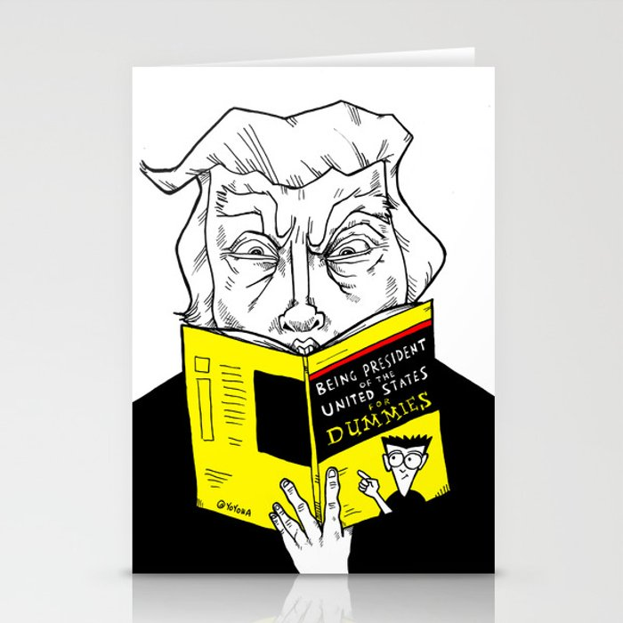 Being President for Dummies Stationery Cards