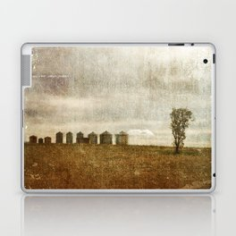 Nine Silos a Tank and a Tree Laptop & iPad Skin