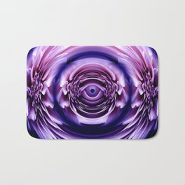 The flower's tear drop pink Bath Mat