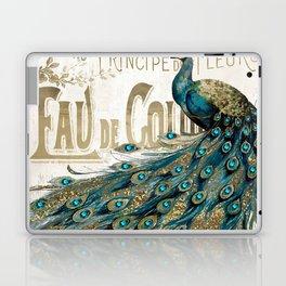 Peacock Jewels Laptop & iPad Skin