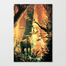 Feral Strings Canvas Print