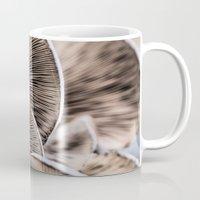 mushrooms Mugs featuring Mushrooms by Kathy Dewar