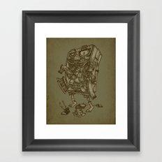 The Walkin' Closet Framed Art Print