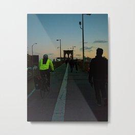 Twilight Horizon Metal Print