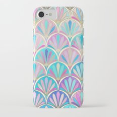 Glamorous Twenties Art Deco Pastel Pattern iPhone 7 Slim Case