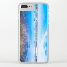 Waterford Blue Clear iPhone Case
