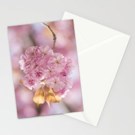 Japanese Cherry Blossom in LOVE Stationery Cards