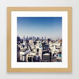 Tokyo Cityscape  Framed Art Print