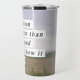 Your Opinion Travel Mug