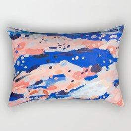 Running lines Rectangular Pillow