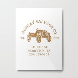 Murray Salvage Co. Metal Print