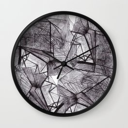 urban water Wall Clock