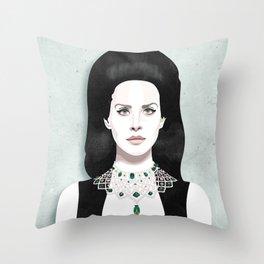 Dark Paradise | LDR VI Throw Pillow