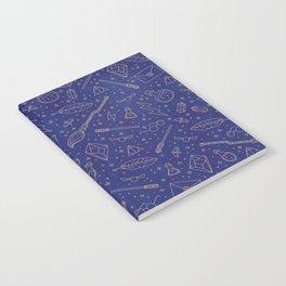 Yer a Wizard - Blue + Bronze Notebook
