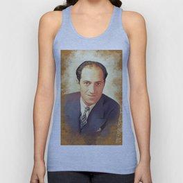 George Gershwin, Music Legend Unisex Tank Top