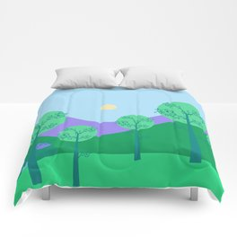 Kawai Landscape Comforters