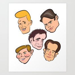 Kids in the Hall Art Print