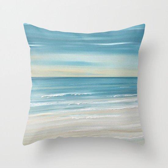 Beach Ocean Throw Pillow