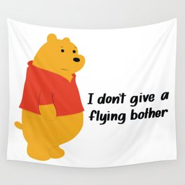 I dont give a bother Wall Tapestry