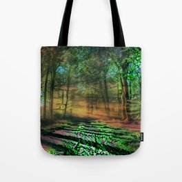 Abstract Forest 5 Tote Bag