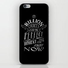 Perfect Moment iPhone & iPod Skin