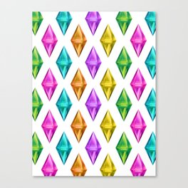 Diamond Plumbob Canvas Print